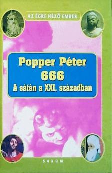 POPPER PÉTER - 666 - A sátán a XXI. században