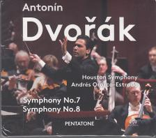 DVORAK - SYMPHONY NO.7, NO.8 CD ANDR�S OROZCO-ESTRADA