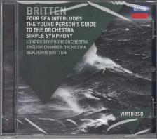 BRITTEN - THE YOUNG PERSON'S GUIDE CD BENJAMIN BRITTEN