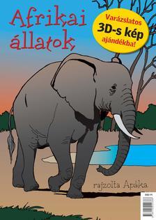 APÁKA - AFRIKAI ÁLLATOK - 3D