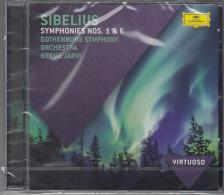 SIBELIUS - SYMPHONIES NOS. 1 & 6 CD NEEME JARVI