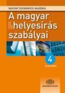 - A magyar helyesírás szabályai - 4 az egyben!