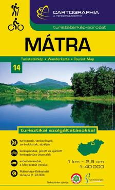 Cartographia - Mátra turistatérkép 1:40 000 `SC`