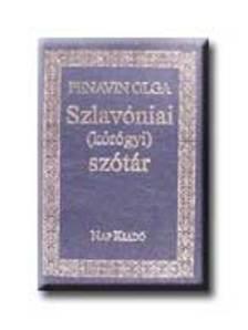 Penavin Olga - SZLAVÓNIAI (KÓRGYÓI) SZÓTÁR