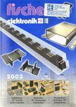 - Fischer elektronik Katalog 2003 [antikvár]