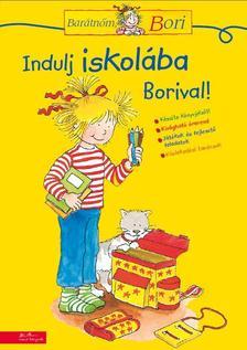 Hanna Sörensen - Barátnőm, Bori foglalkoztató - Indulj iskolába Borival!