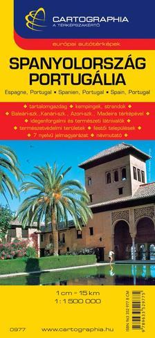 Cartographia Kiad� - SPANYOLORSZ�G, PORTUG�LIA AUT�T�RK�P - CART. -