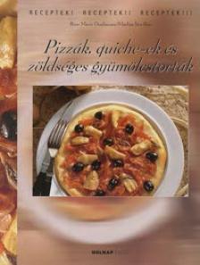 DONHAUSER, ROSE MARIE - Pizz�k, quiche-ek �s z�lds�ges gy�m�lcstort�k