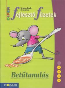 KRISTON-BORDI ZSUZSANNA - MS-9333 BETŰTANULÁS - DIFER FEJLESZTŐ FÜZETEK