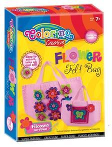 Colorino - Colorino Creative FLOWER filc táskakészítő készlet