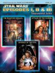 WIILLIAMS, JOHN - STAR WARS EPISODES I,  II & III. INSTR.SOLOS; CELLO (REMOVABLE PART),  PIANO ACC. LEVEL 2-3,  CD INCL.