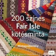 MUCKLESTONE, MARY JANE - 200 sz�nes Fair Isle k�t�sminta