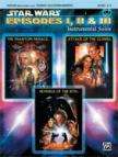 JOHN WILLIAMS - STAR WARS EPISODES I,  II & III. INSTR.SOLOS; VIOLIN (REMOV. PART) / PIANO ACC., LEVEL 2-3,  CD INCL.