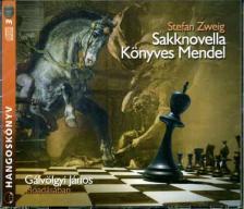 Stefanie Zweig - SAKKNOVELLA - KÖNYVES MENDEL - HANGOSKÖNYV 3CD