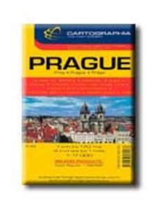 Cartographia - PR�GA V�ROST�RK�P - CART. - 1:17.000 -