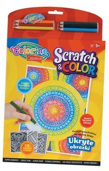 Colorino - Colorino Creative SCRATCH&COLOR akt�v kifest�k�nyv 6db sz�nesceruz�val