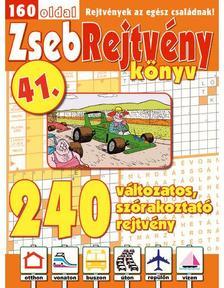 CSOSCH KIADÓ - ZsebRejtvény Könyv 41.
