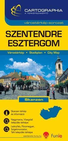 Cartographia Kiadó - SZENTENDRE VÁROSTÉRKÉP 1:13000 - CART. -
