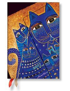 """- PB napt�r 2017 MINI horizont�lis """"MEDITERRANEAN CATS"""" DE3343-1"""
