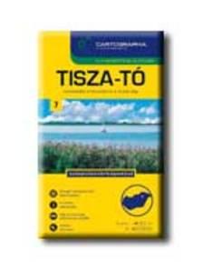 Cartographia Kiadó - TISZA-TÓ TURISTATÉRKÉPE 1:40000 - CART. -