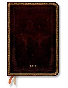 """- PB naptár 2017 MIDI horizontális """"BLACK MOROCCAN"""" DE3399-8"""