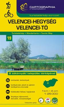 Cartographia Kiadó - VELENCEI-HEGYSÉG, VELENCEI-TÓ TURISTATÉRKÉP 1:25000 - CART.