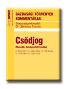 DR. BOÓC ÁDÁM, DR. SÁNDOR ISTVÁN, DR. TÓ - Csődjog 2. hatályosított kiadás