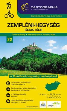 Cartographia Kiad� - ZEMPL�NI-HEGYS�G (�SZAKI R�SZ) TURISTAT�RK�P 1:40000 -