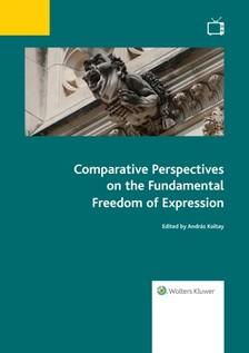 (szerk.) András Koltay - Comparative Perspectives on the Fundamental Freedom of Expression  [eKönyv: epub, mobi]