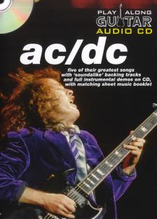 - PLAYALONG GUITAR AUDIO CD AC / DC. FIVE OF THEIR GREATEST SONGS