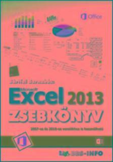 B�RTFAI BARNAB�S - Excel 2013 zsebk�nyv