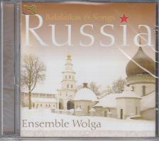 - RUSSIA - BALALAIKAS AND SONGS CD
