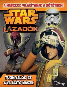 - - Star Wars - L�zad�k foglalkoztat� s�t�tben vil�g�t� maszkkal