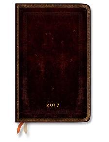 "- PB naptár 2017 MAXI horizontális ""BLACK MOROCCAN"" DE3435-3"