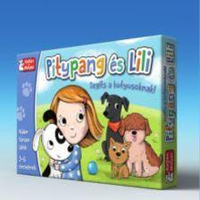 . - Pitypang és Lili - Segíts a kutyusoknak! - társasjáték
