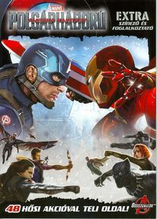 - Amerika Kapitány - Polgárháború Extra színező és foglalkoztató