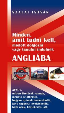 SZALAI ISTVÁN - Minden, amit tudni kell, mielőtt dolgozni vagy tanulni indulnék Angliába ...