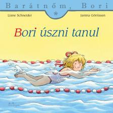 - Bori úszni tanul