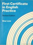 Arnold, Edward - First Certificate in English Practice Ona Low [antikv�r]