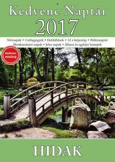 CSOSCH KIAD� - Kedvenc Napt�r 2017 - Hidak