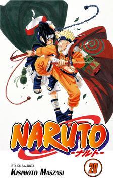 Kisimoto Maszasi - Naruto 20. - Naruto vs Szaszuke!!