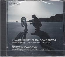 HÖGBERG, SANDSTRÖM, AHO - 21ST-CENTURY TUBA CONCERTOS CD BAADSVIK, RONDIN, NORRKÖPING SYMPHONY ORCH.