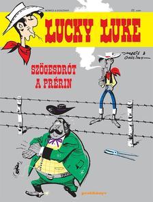 Goscinny - Morris - Sz�gesdr�t a pr�rin -  Lucky Luke sorozat 22.