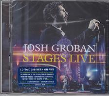 - STAGES LIVE CD+DVD JOSH GROBAN