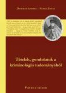 Domokos Andrea - Nemes Zsófia - Tételek, gondolatok a kriminológia tudományából