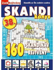 CSOSCH KIADÓ - ZsebRejtvény SKANDI Könyv 38.