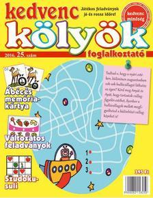 CSOSCH KIADÓ - Kedvenc Kölyök Foglalkoztató 25.