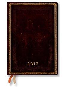 "- PB napt�r 2017 MIDI napi ""BLACK MOROCCAN"" DE3393-6"