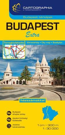 . - BUDAPEST V�ROST�RK�P EXTRA 1:30 000 - KEM�NY -