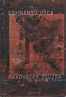 Rakovszky Zsuzsa - Egyir�ny� utca [eK�nyv: pdf, epub, mobi]